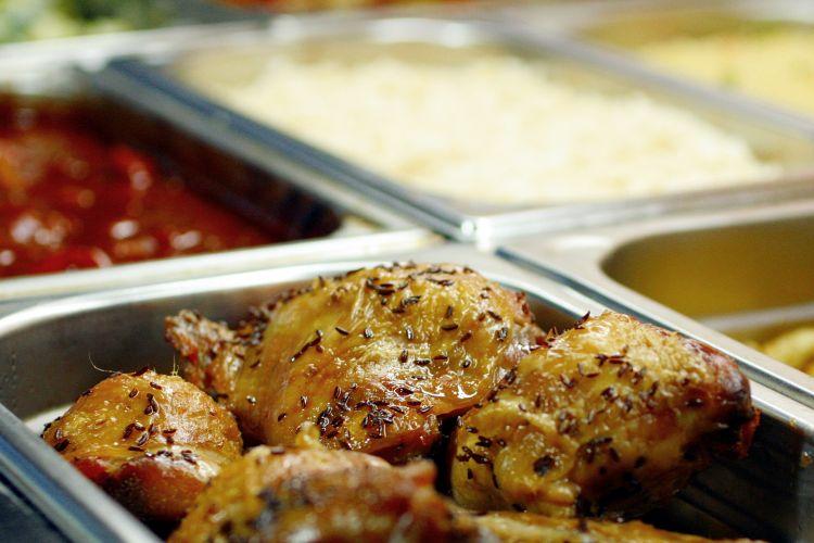 Lunch crusie - buffet menu