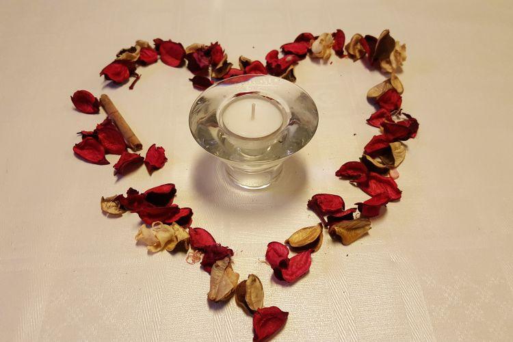 Valentýn plavba - srdce