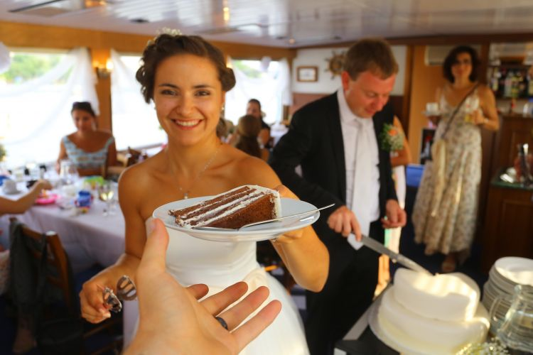 Wedding cruise with your family and friends