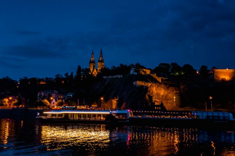 A Vysehrad Castle view