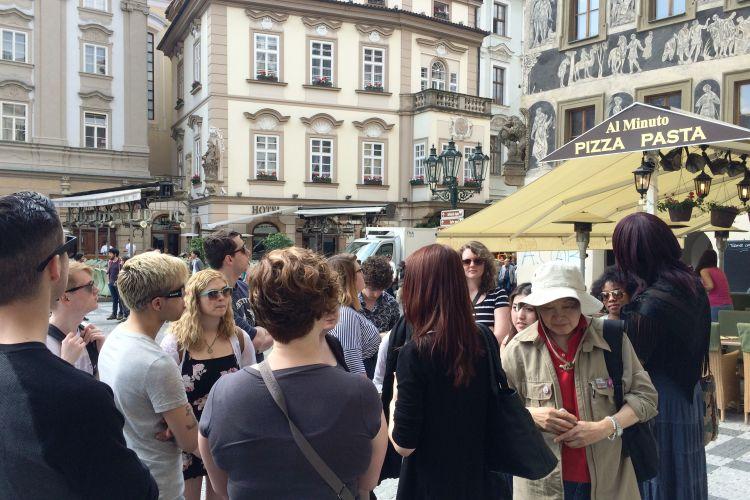 Prohlídka Prahy se soukromým průvodcem